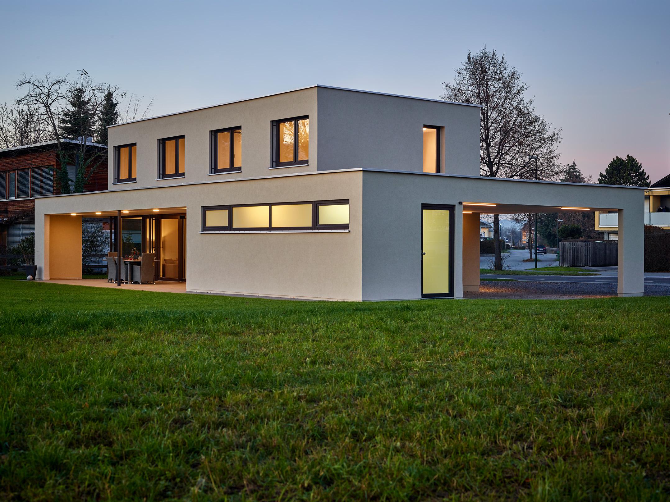 Fassade Modern modern innen und außen abgestimmt lelo